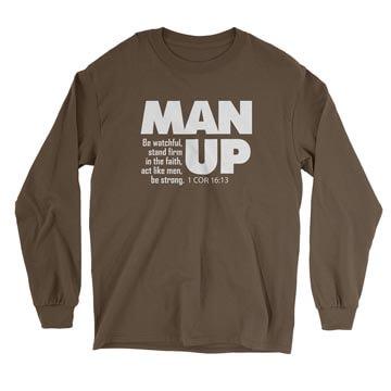 Man Up (1 Cor 16:13) - Long Sleeve Tee