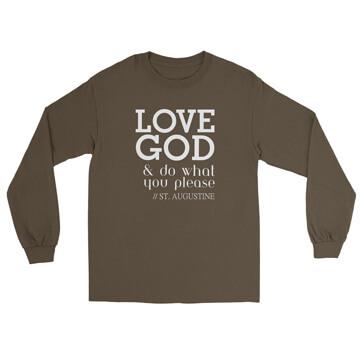 Love God - Augustine - Long Sleeve Tee