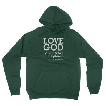 Love God - Augustine - Hoodie