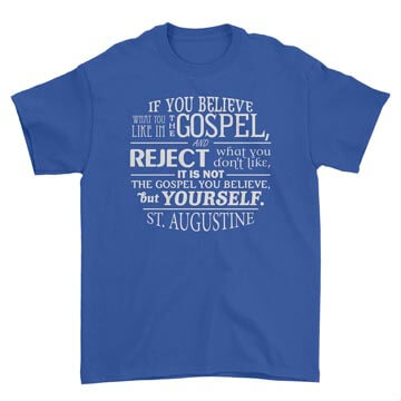 Not the Gospel, but Yourself - Augustine Tee