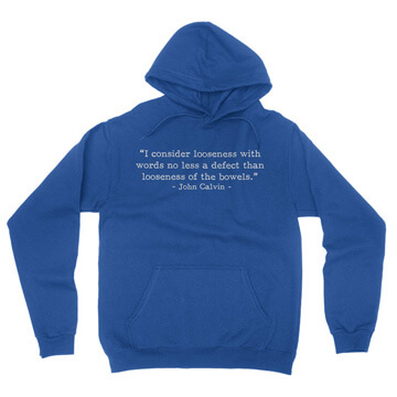 Looseness with Words - Calvin (Text Quote) - Hoodie