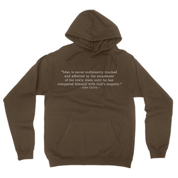 Lowly State - Calvin (Text Quote) - Hoodie