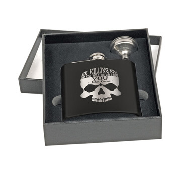Be Killing Sin (Skull) Flask Set