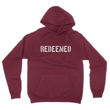 Redeemed (Stencil)  - Hoodie