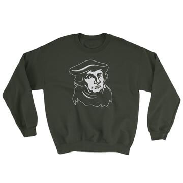 Martin Luther - Crewneck Sweatshirt