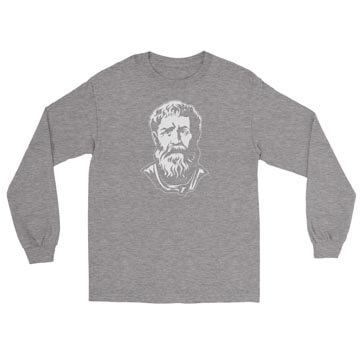 Saint Augustine - Long Sleeve Tee