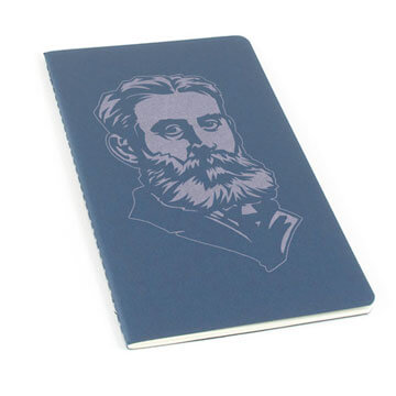 BB Warfield Laser Etched Moleskine Journal