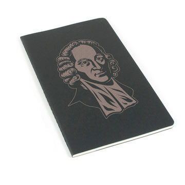 Jonathan Edwards Laser Etched Moleskine Journal