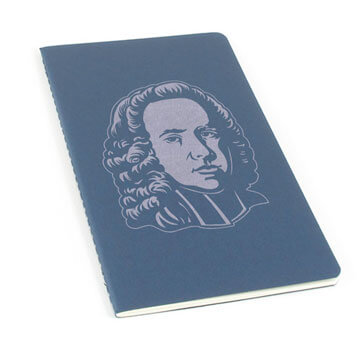 George Whitefield Laser Etched Moleskine Journal