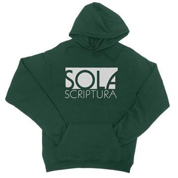 Sola Scriptura (Block)  - Hoodie