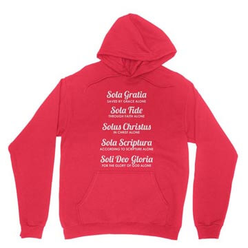The Five Solas - Hoodie