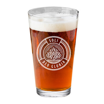Soli Deo Gloria Pint Glass
