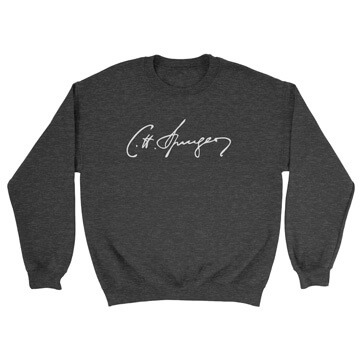 Charles Spurgeon (Signature) - Crewneck Sweatshirt