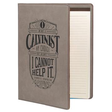 I Am A Calvinist Portfolio Cover