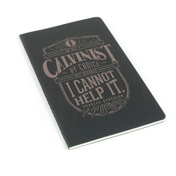 Calvinist Laser Etched Moleskine Journal