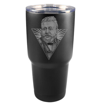 Charles Spurgeon Illustrated Insulated Tumbler