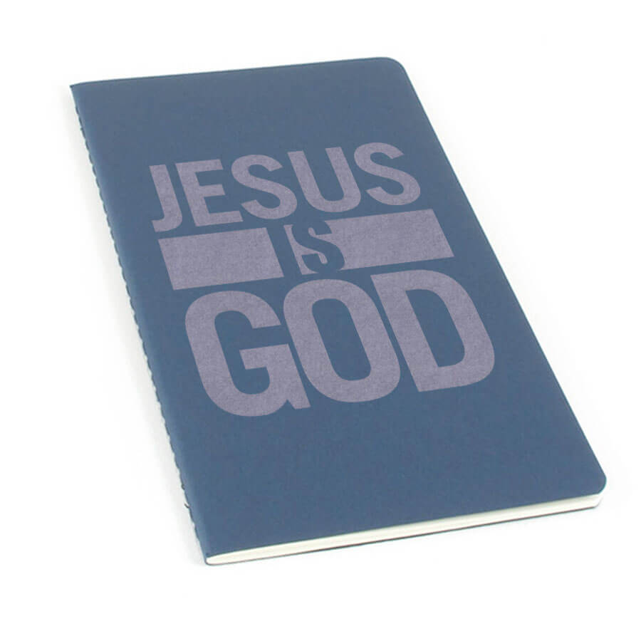 Jesus Is God Laser Etched Moleskine Journal