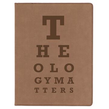 Theology Matters (Eye Chart) Portfolio Cover