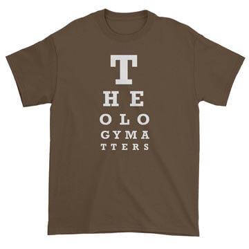 Theology Matters (Eye Chart) Standard Tee