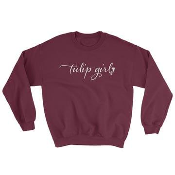 Tulip Girl - Crewneck Sweatshirt