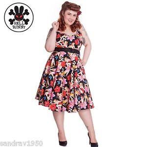 936a3ed6868 Hell Bunny Hawaii Plus Size Dress