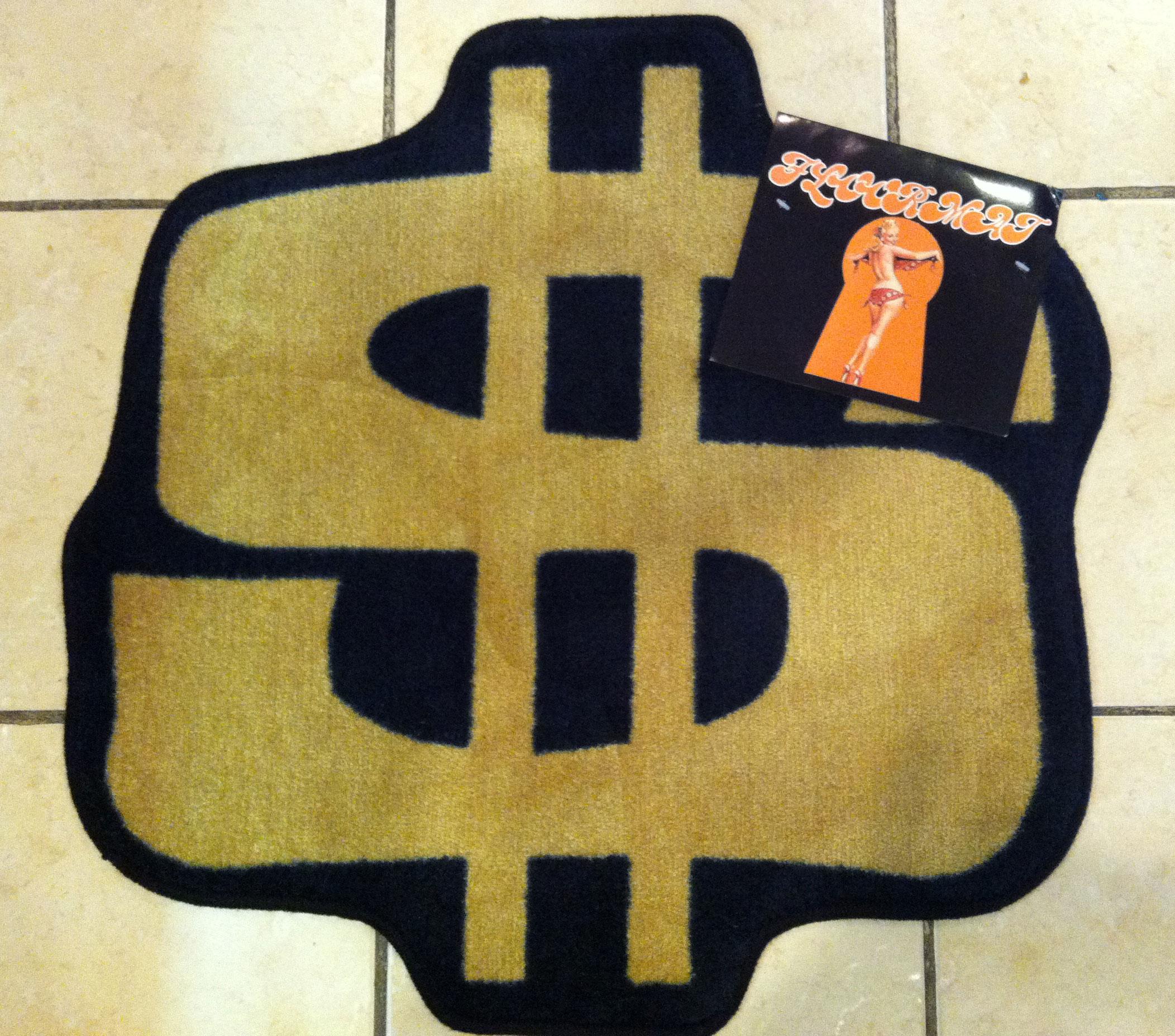 Money Rug Home Decor