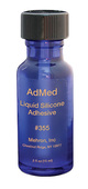 Mehron AdMed Liquid Adhesive- 0.5oz.