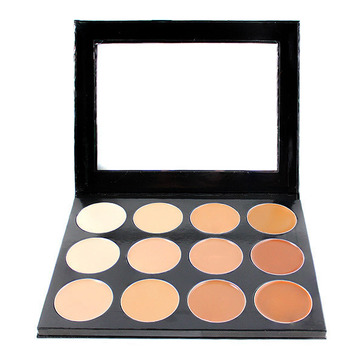 Mehron Celebre PRO-HD Cream Contour & Highlight Palette - 12 Shades