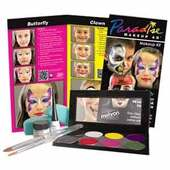 Mehron Paradise AQ Face Painting Makeup Kit Children's Premium