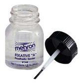 Mehron Fixative A Sealer with Brush - 1oz.