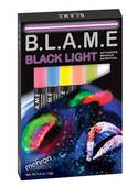 Mehron B.L.A.M.E. Black Light Makeup-6 Color Set
