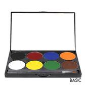 Mehron Paradise Makeup AQ 8 Color Palette