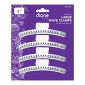Diane 4 Pack Aluminum Wave Clamp