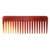 """Diane 6.25"""" Wide Tooth Comb-Tortoise"""