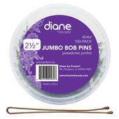 Diane Jumbo Curved Bobby Pins - 100 ct. Tub