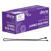 Diane Jumbo Bobby Pins-Black - 1lb. Box