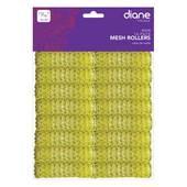 """Diane 11/16"""" Mesh Roller-Yellow - 16 pk"""