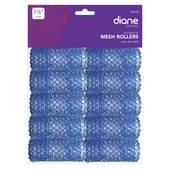 Diane 1 1/8 Mesh Roller-Blue - 10 pk