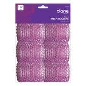 """Diane 1 3/4"""" Mesh Roller-Pink - 6 pk"""