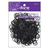 Diane Rubber Bands-Black - 500 pk