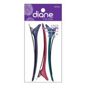 """Diane 4.5"""" Nano Clips - 3 pk"""