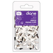 "Diane 1 3/4"" Single Prong Clips - 80 pk"