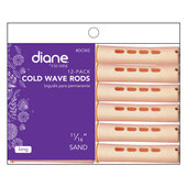 "Diane Cold Wave 11/16"" Rods - 12 Pack-Sand"