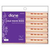 "Diane Cold Wave 11/16"" Rods - 12 Pack-Sand"