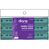 "Diane Cold Wave 1 1/8"" Rods - 6 Pack-Green"