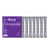 "Diane Cold Wave 3/8"" Rods - 12 Pack-Grey"