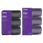 Diane Magnetic Rollers - 6 pk
