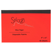 Stilazzi Disposable Wax Paper Palette Sheets-40ct