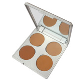 Viseart HD Teint Inception Creme Foundation Quad Palette 01