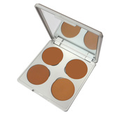 Viseart HD Teint Inception Creme Foundation Quad Palette 02